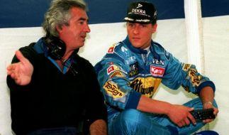 Flavio Briatore machte aus Michael Schumacher einen Weltmeister. (Foto)