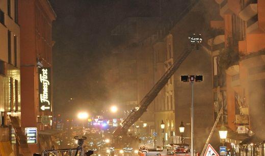 Fliegerbombe versetzt Muenchens Kneipenviertel in Ausnahmezustand (Foto)