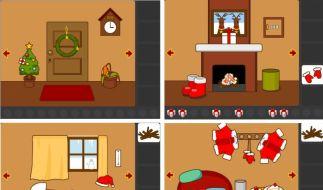 Flucht aus dem Weihnachtszimmer (Foto)