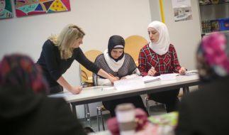 Flüchtlinge sollen sich einem IQ-Test unterziehen. (Foto)