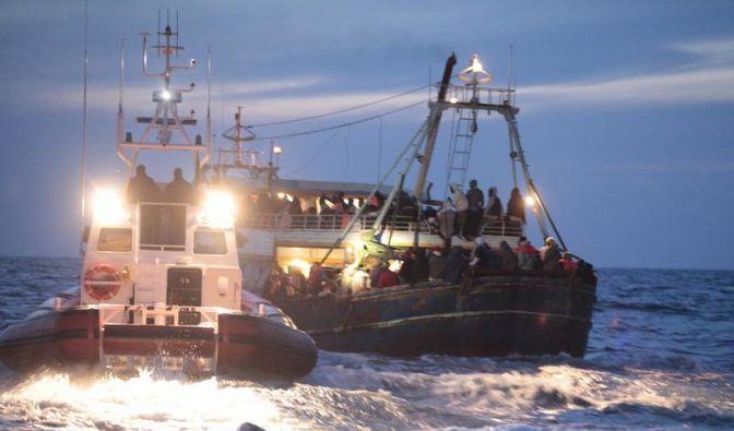 Flüchtlingsdrama im Mittelmeer: Kaum noch Hoffnung (Foto)