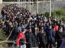 Flüchtlingslager auf Lampedusa (Foto)