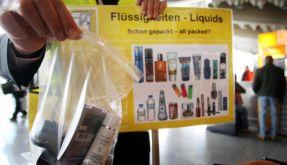 Flüssigkeitsverbot (Foto)
