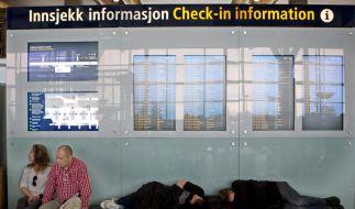 Flugabsage wegen Vulkanasche: Geld zurück für Passagiere (Foto)