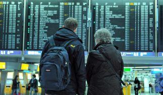 Flugausfälle in Frankfurt - Hotlines für Reisende (Foto)