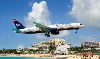 Flughafen St. Maarten (Foto)