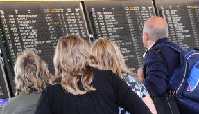 Flugpassagiere (Foto)
