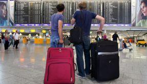 Flugreisende (Foto)