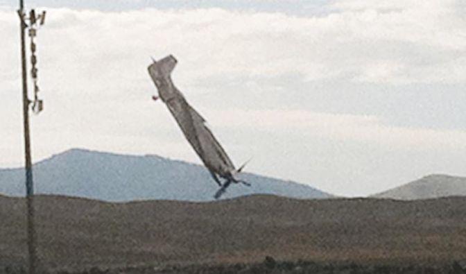 Flugzeugabsturz in Reno (Foto)