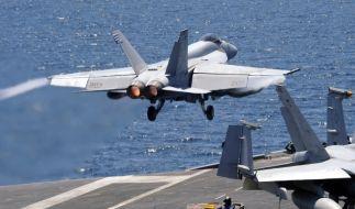 Flugzeugträger «USS George Washington» (Foto)