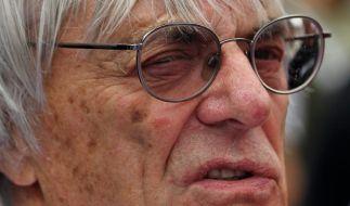Formel-1-Affäre: Ecclestone korrigiert Angaben (Foto)