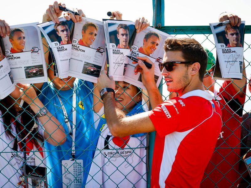 Jules Bianchi Zustand aktuell