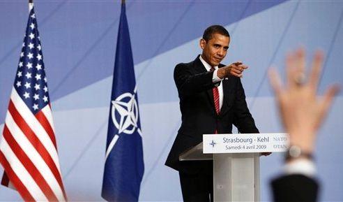 FRANCE NATO SUMMIT OBAMA (Foto)