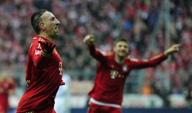 Franck Ribery reißt Bayern aus dem Winterschlaf (Foto)
