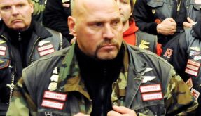 Frank Hanebuth, Chef der Hannoveraner Hells Angels: Sein Club hat sich nun selbst aufgelöst. (Foto)