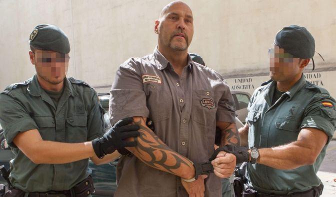 Frank Hanebuth, ehemaliger Chef der Hells Angels in Hannover, wartet in Spanien derzeit weiter auf seine Anklage. (Foto)