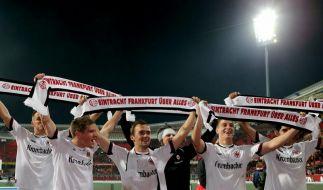 Frankfurt hat ein Selbstvertrauen, das einem Angst wird. Reicht das auch gegen Meister Dortmund? (Foto)