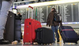 Frankfurter Flughafen vor zweitem Streiktag (Foto)