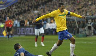 Frankreich besiegt Brasilien mit 1:0 (Foto)