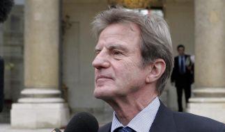Frankreichs Außenminister Kouchner (Foto)