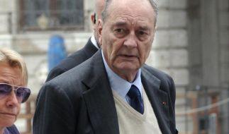 Frankreichs Ex-Präsident muss sich vor Gericht verantworten.  (Foto)