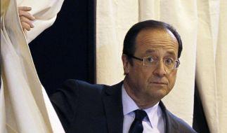 François Hollande schaut der Macht entgegen. (Foto)