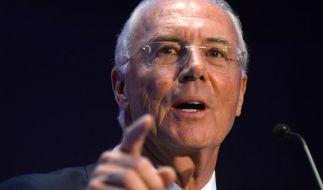 Franz Beckenbauer ist sauer. (Foto)