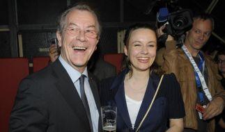 Franz Müntefering und Michelle Schumann (Foto)
