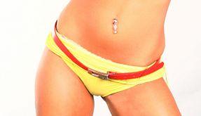 Frau im Bikini (Foto)