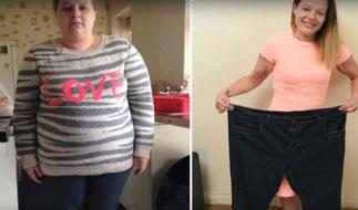 Frau verliert 50 Kilo, weil sie auf ein Lebensmittel verzichtet. (Foto)