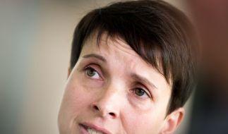 Frauke Petry soll Mitgliederdaten geklaut haben. (Foto)