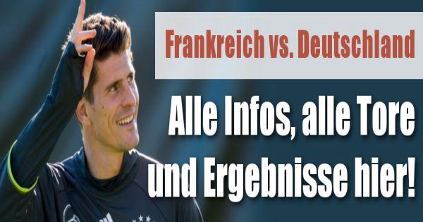 freundschaftsspiel deutschland frankreich