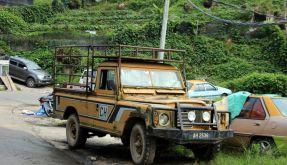 Friedhof der Land Rover (Foto)