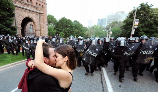 Friedliche Demonstration (Foto)