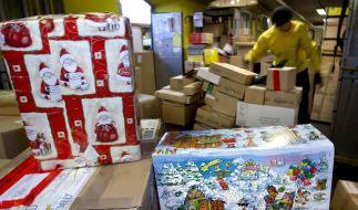 Frist für Weihnachtspost bleibt trotz Schnee (Foto)