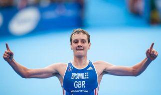 Frodeno fit für Olympia - Alistair Brownlee überragt (Foto)