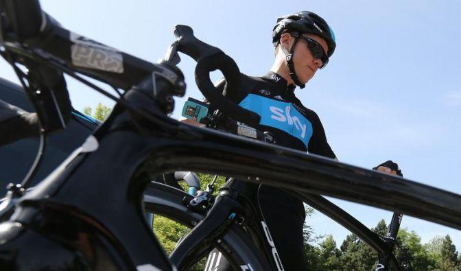 Froome gewinnt siebte Tour-Etappe - Wiggins in Gelb (Foto)