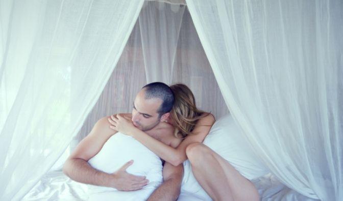 Frust im Bett  (Foto)