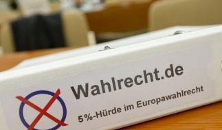 Fünf-Prozent-Klausel bei Europawahl verfassungswidrig (Foto)