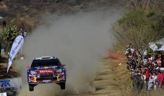 Fünfter Mexiko-Sieg für Rallye-Fahrer Loeb (Foto)