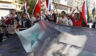 Für Bashar al-Assad wird die Luft dünner. (Foto)