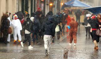 Für Deutschland gibt es bereits eine amtliche Unwetterwarnung. (Foto)