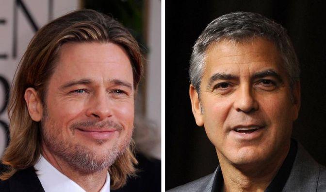 Für Homo-Ehe: Pitt mit Clooney auf Theaterbühne (Foto)