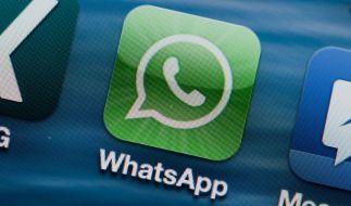 Für den Kurzmitteilungsdienst WhatsApp ist ein neues Update erschienen. (Foto)