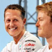 Nico Rosberg würdigt Schumi mit bewegender Rede (Foto)