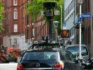 Für das Projekt «Street View» fotografiert ein Google-Kamerafahrzeug Straßen in Kiel (Archiv). (Foto)
