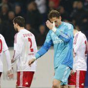 Für René Adler gab es gegen den FC Bayern München nicht viel zu halten.