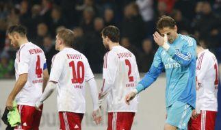 Für René Adler gab es gegen den FC Bayern München nicht viel zu halten. (Foto)