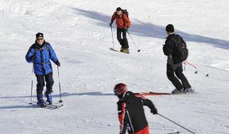 Für den perfekten Skiurlaub müssen Sie nicht weit reisen - einige der schönsten Skigebiete finden Sie in Italien und Frankreich. (Foto)