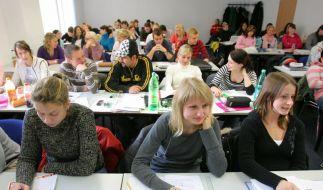 Für viele Studenten ist die Ausbildung an Privathochschulen nicht erschwinglich. (Foto)